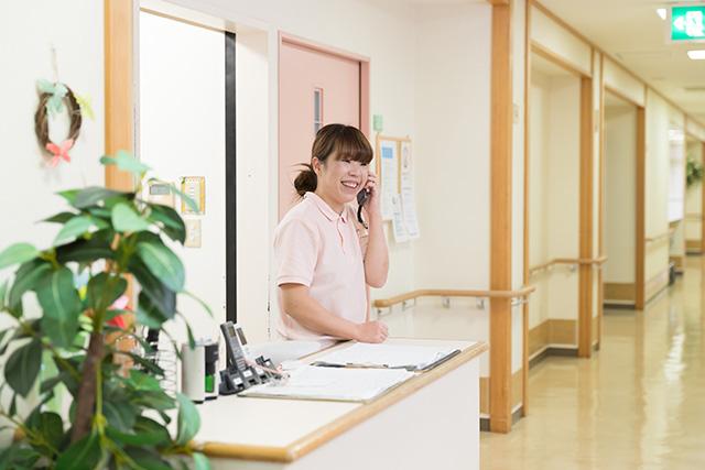 24時間完全介護安心をベースに快適な生活をお守りします。